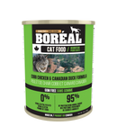 Boreal  Cobb Chicken & Canadian Duck for cats 12 x 14 oz. cans