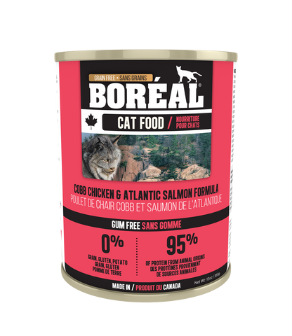 Boreal Cobb Chicken & Atlantic Salmon for Cats