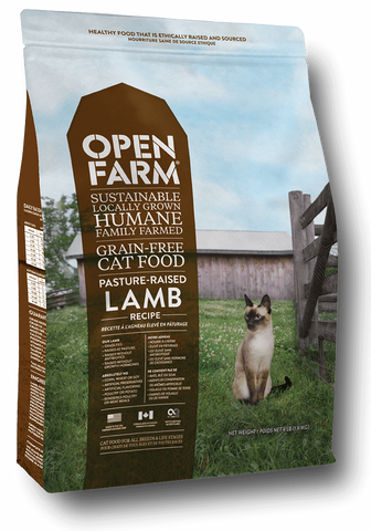 Open Farm Pasture Raised Lamb Recipe for Cats 8lbs.