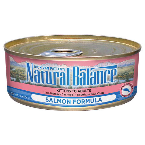 Natural Balance Salmon for cats (w/ Chicken) 24 x 5.5 Oz. Cans