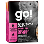 GO! Skin & Coat Minced Chicken Pate 24/6.4OZ