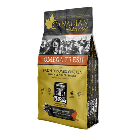 Canadian Naturals Omega Fresh Deboned Chicken 24 lbs. - Naturally Urban Pet Food Delivery