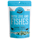 Granville Island With Love & Fishes Sardine Treats for cats & dogs