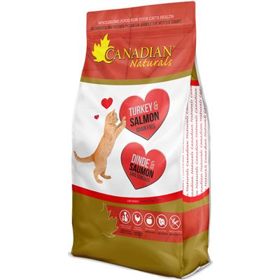 Canadian Naturals Grain Free Turkey and Salmon for Cats 15 lbs