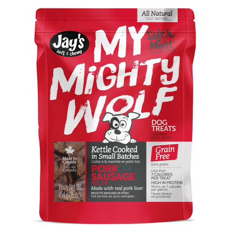 My Mighty Wolf Pork treats for dogs  454 gm