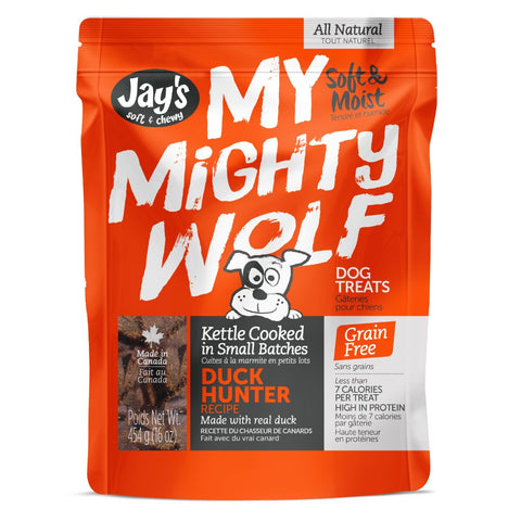 My Mighty Wolf Duck treats for dogs 454 gr.
