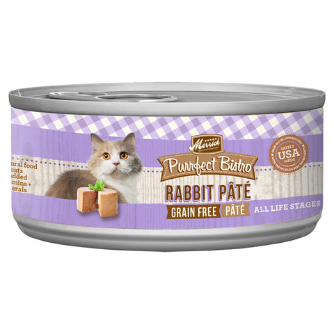 Merrick Purrfect Bistro Rabbit Pate 24 x 5.5 oz. cans..