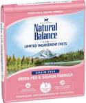 Natural Balance Green Pea & Salmon Dry Formula 10 lbs. bag