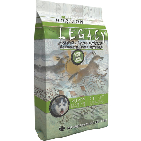 Horizon Legacy Puppy 25 lbs. - Naturally Urban Pet Food Delivery