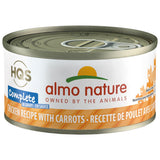 Almo Nature Complete HQS Chicken Recipe with Carrots 24 x 70 gram cans