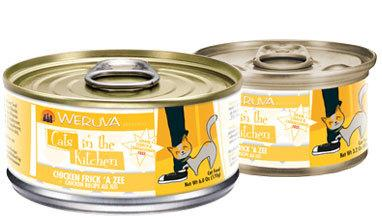 Weruva Cats in the Kitchen  Chicken Frick 'A Zee - Chicken Recipe Au Jus 24 x 6 oz. cans