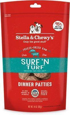 Stella and Chewy's Surf n' Turf Freeze Dried Dinner 25 oz.