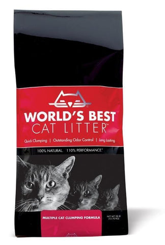 World's Best Cat Litter' Multiple Cat Clumping Formula  28 lbs. bag
