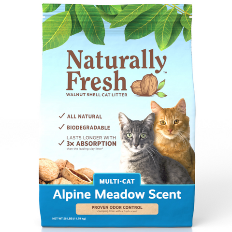 Naturally Fresh MulitCat Clumping Formula Alpine Meadow 26 lbs.