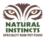 Natural Instincts Non-Med Turkey with bone  organ & veg. - Naturally Urban Pet Food Delivery