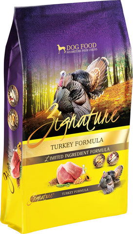 Zignature Turkey Formual for Dogs 27 lbs.