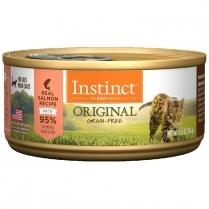 Nature's Variety Instinct Salmon Formula 12 x 5.5 oz.  cans - Naturally Urban Pet Food Delivery