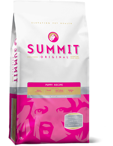 Summit - Three Meat Puppy Dog Food Recipe 28 lbs.