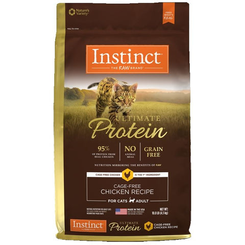 Nature Variety's Instinct Cat Ultimate Protein Chicken 10 lbs