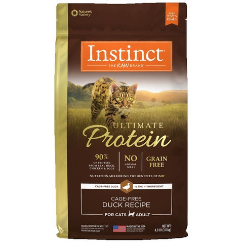 Nature Variety's Instinct Cat Ultimate Protein Duck 1.81kg