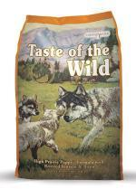 Taste of the Wild High Prairie Puppy Formula with Roasted Venison & Bison 28 lbs. bag - Naturally Urban Pet Food Delivery