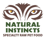 Natural Instinct Non-Med Beef with organ & supplements for cats 6 x 250 gr - Naturally Urban Pet Food Delivery