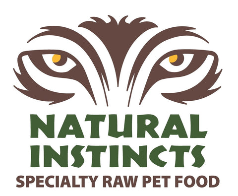 Natural Instinct wild salmon and non-med chicken with bone, organ & supplements for cats 6 x 250 gr