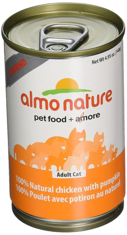 Almo Nature Chicken with Pumpkin 24 cans of 140 grams - Naturally Urban Pet Food Delivery