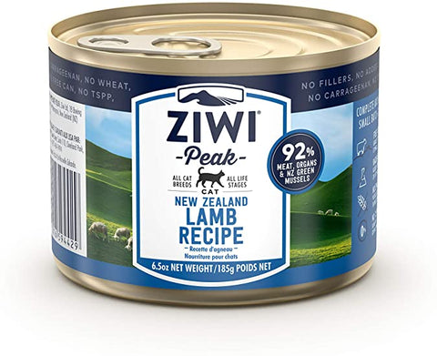 ZiwiPeak Daily Cat Lamb 12  6.6 oz. cans - Naturally Urban Pet Food Delivery