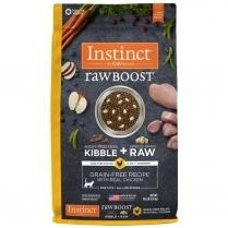Nature's Variety Instinct Raw Boost Grain free Chicken Meal Formula Kibble  10 lbs