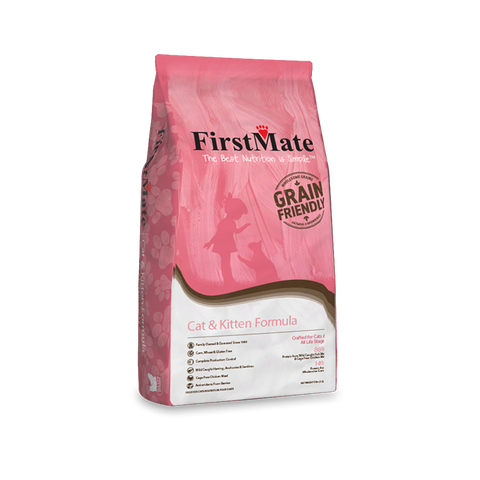 FirstMate's Grain Friendly Cat and Kitten Formula 13 lbs - Naturally Urban Pet Food Delivery