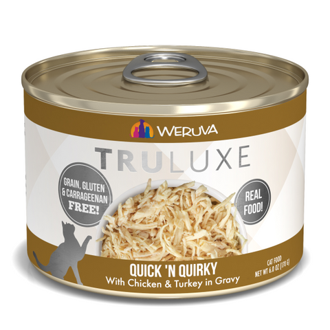 Quick 'N Quirky with Chicken & Turkey in Gravy 24 x 6 oz Cans