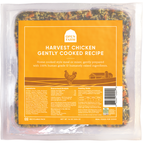 Open Farm Gently Cooked Harvest Chicken Recipe