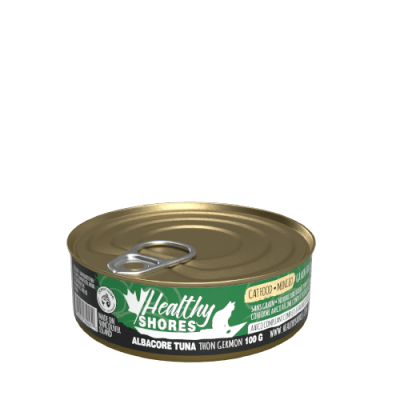 Healthy Shores Albacore Tuna Cat Food 24 x 100 gram cans