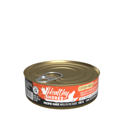 Healthy Shores Hake Cat Food 24 x 100 gram cans