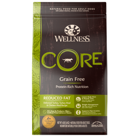 Wellness  CORE Reduced Fat for Dogs  24 lbs.