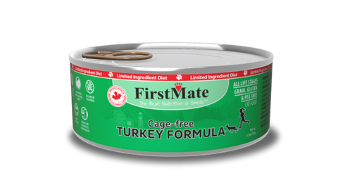 FirstMate's Can Free-Run Turkey for Cats 24 x5.5 oz.