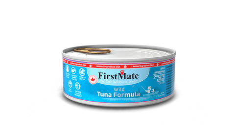 FirstMate's Can Wild Tuna for Cats 24 x5.5 oz. - Naturally Urban Pet Food Delivery