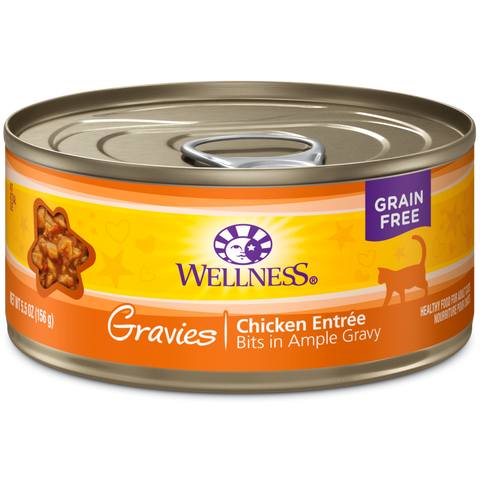 Wellness Complete Health Chicken Entre Gravies pack 12 x 5.5 oz cans