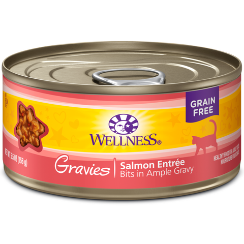 Wellness Complete Health Salmon Entre Gravies pack 12 x 5.5 oz cans