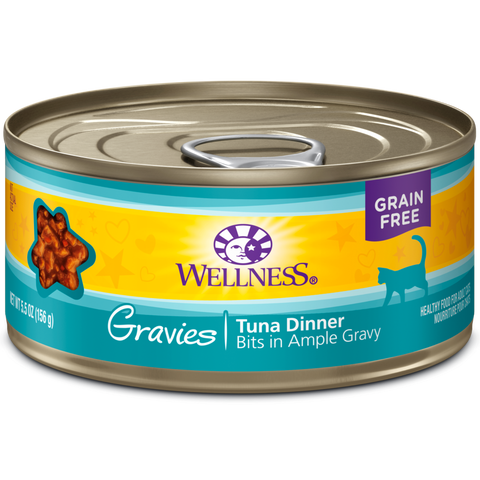Copy of Wellness Complete Health Tuna Gravies pack 24 x 5.5 oz cans