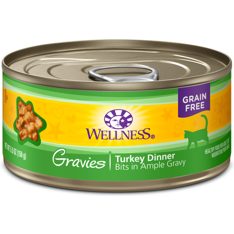 Wellness Complete Health Turkey Gravies pack 12 x 5.5 oz cans
