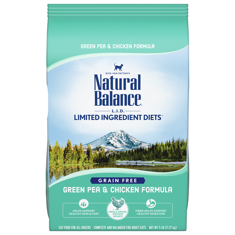 Natural Balance Green Pea & Chicken Dry Formula 10 lbs. bag
