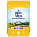 Natural Balance Green Pea & Duck Dry Formula 10 lbs. bag - Naturally Urban Pet Food Delivery
