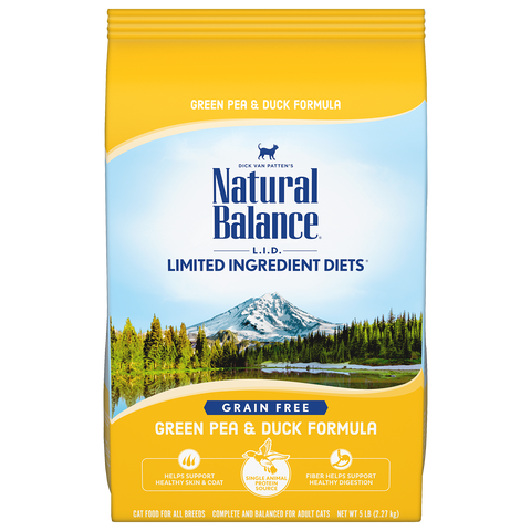 Natural Balance Green Pea & Duck Dry Formula 10 lbs. bag