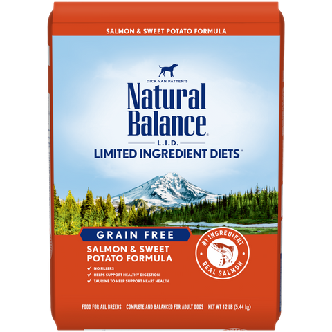 Natural Balance Sweet Potato & Salmon Dry Formula  24 lbs. bag