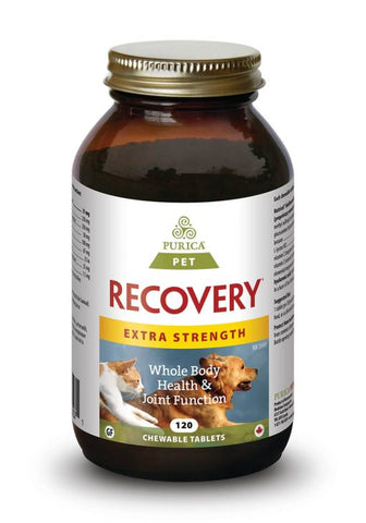 Purica Pet Recovery Extra Strength Chewable Tablets