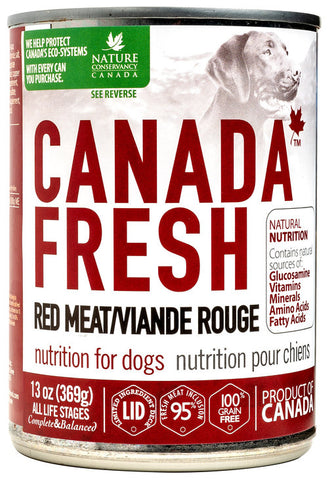 Canada Fresh Nutrition For Red Meat Formula 12 x 13oz cans
