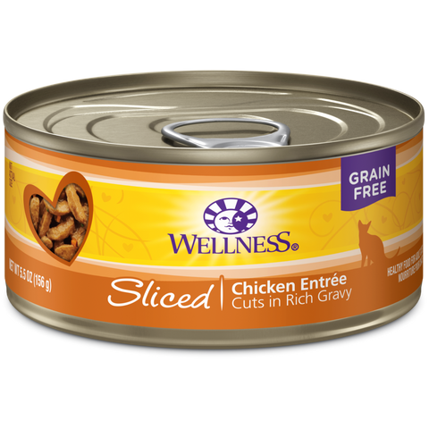 Wellness Complete Health Sliced Chicken Dinner 24 x 5.5 oz cans