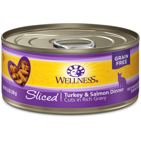 Wellness Complete Health Sliced Turkey & Salmon Dinner 24 x 5.5 oz cans